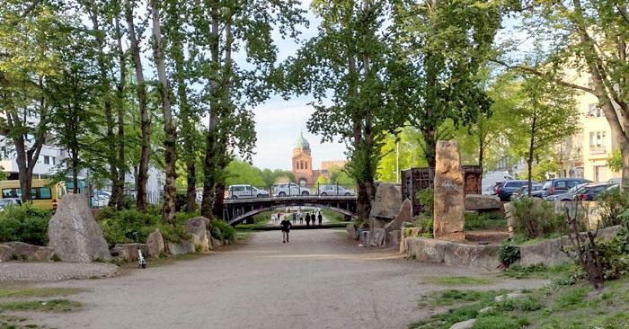 Oranienplatz und Luisenstädtischer Kanal
