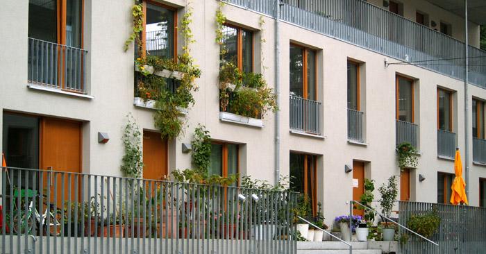 Bauen und Wohnen am Hochdamm